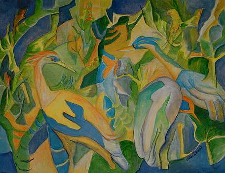 Shore Birds by Joan Landry