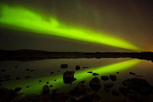 Aurora Borealis by Petur Mar Gunnarsson