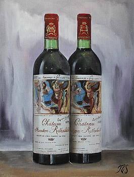 Chateau Mouton Rothschild 1973 by Tommy G Sundman