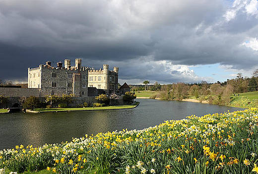 Leeds Castle in Kent United Kingdom by Kiril Stanchev