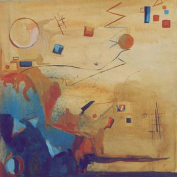 a la Kandinsky by Otilia Gruneantu Scriuba