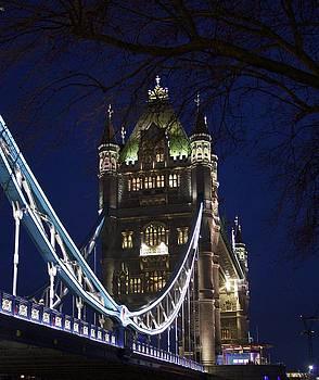 A unique view of Tower Bridge  by Jennifer Lamanca Kaufman