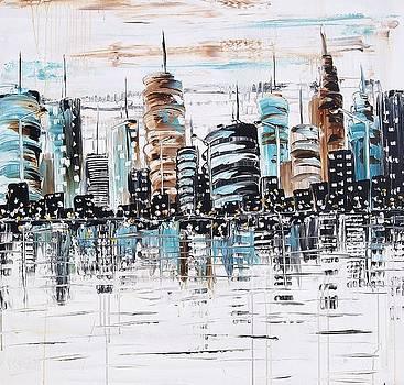 Abstract City by Jolina Anthony