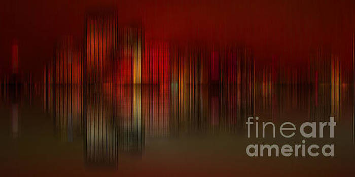 Abstract cityscape 005B by Stuart Turnbull