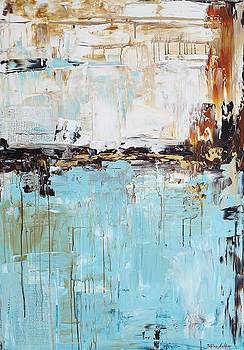Abstract In Blue by Jolina Anthony