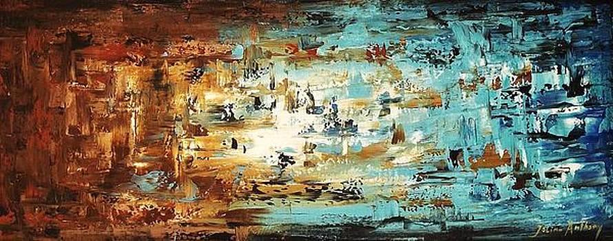 Abstract World 1 by Jolina Anthony