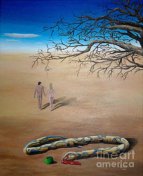 Adam and Eve the death of temptation  by Marco Santos