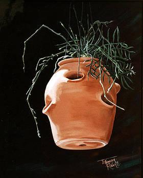 Adobe Pot by Jill Roberts