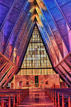 Air Force Academy Chapel by Bruce Hamel