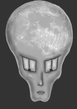Alien moon by Ana Balazic