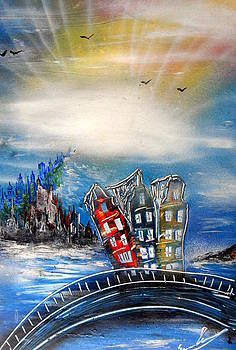 Amsterdam by Evaldo Art