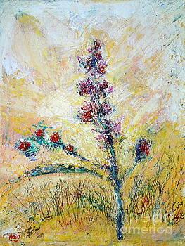 An Autumn Field of Flowers by Aeris Osborne
