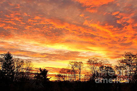 An October Sunrise 5 by Jay Nodianos