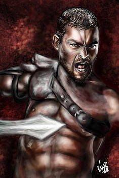 Andy Whitfeld Spartacus by Vinny John Usuriello