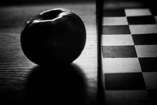 Apple and Squares by Steve Johnson