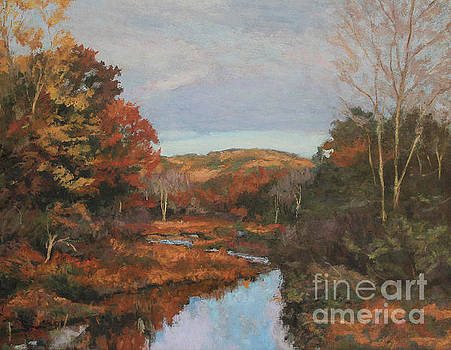 Autumn Stream by Gregory Arnett