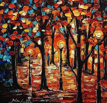Autumn Walk by Jolina Anthony