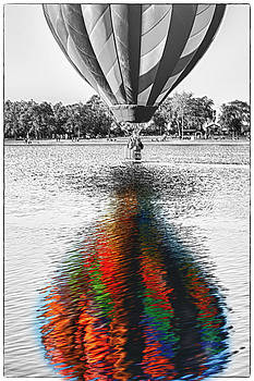 Balloon Color Refection by Bruce Hamel