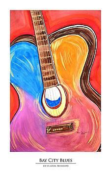 Bay City Blues Print by Ryan D Merrill
