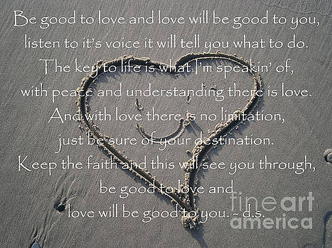 Be good to Love by Drew Shourd