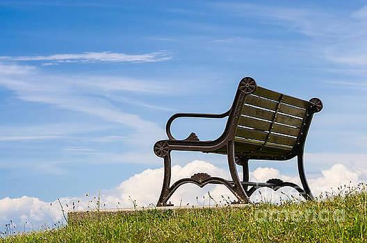 Bench by Volodymyr Kyrylyuk