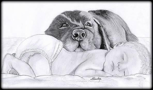 Best Friends by Saki Art