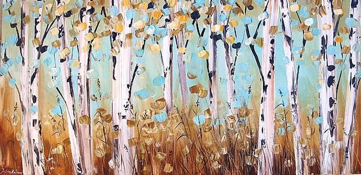 Birch Trees by Jolina Anthony