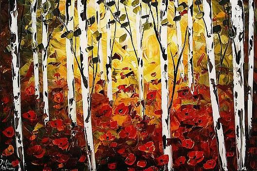 Birchforest by Jolina Anthony