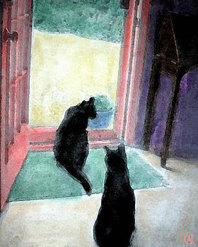 Black Cats by Art by Kar