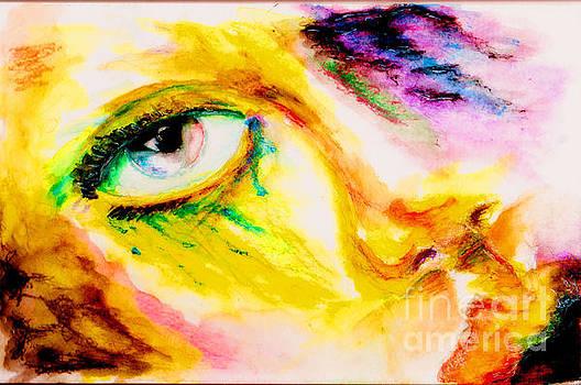 Bleeding Eyes by Steven  Christian