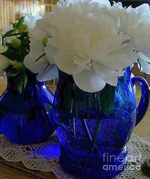 Blue and White by Jackie Mueller-Jones