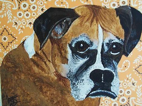 Boxer Love by Janice W Deetscreek