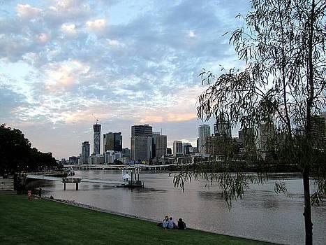 Brisbane Evening by Elizabeth Hardie