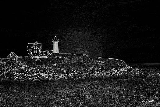 Cape Neddick Light House by Larry Small