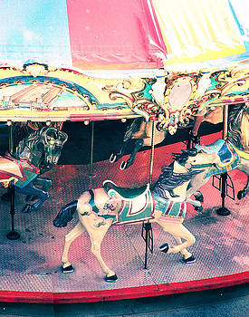 Carousel Horse by Suzanne Barber