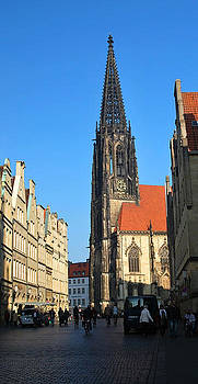 Cathedral  of Freiburg by Ivelina Angelova