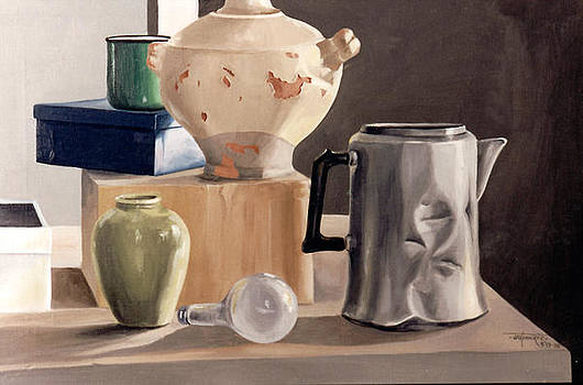 Chipped Pot Study by Jill Roberts