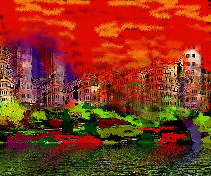 City Scape by Vandana Rajesh