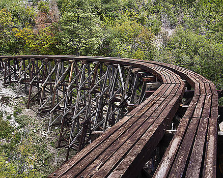Cloudcroft Mexican Canyon Trestle by Bob Bailey