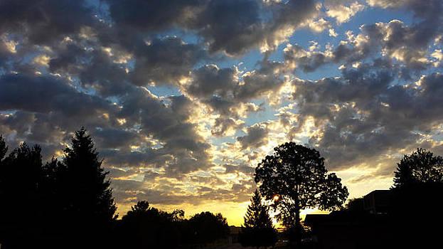 Cloudy Sunrise by James Hammen