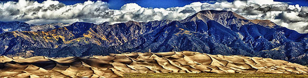 Colorado Sand Dunes Hdr by Bruce Hamel