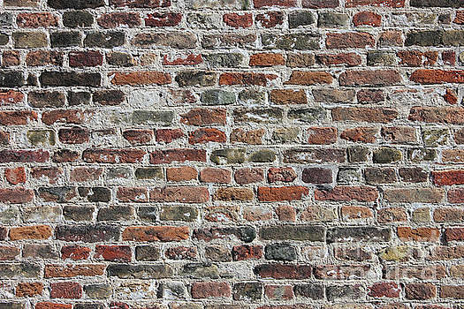 Colorful Bricks Background by Kiril Stanchev