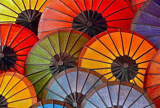 Colorful Umbrellas by Dorota Nowak