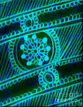 Cool Green Mehndi by Jessica Petty