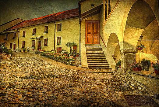 Courtyard by Vjekoslav Antic