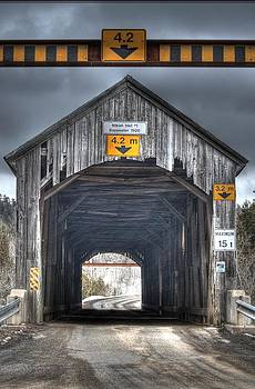 Covered Bridge by Roger Lewis