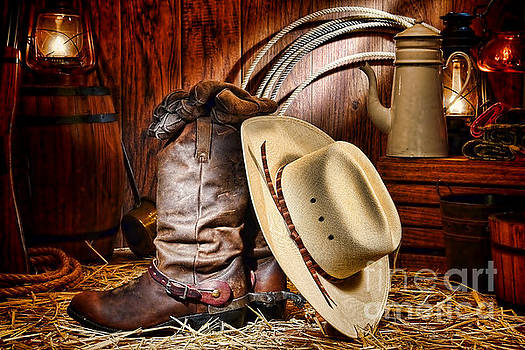 Cowboy Gear by Olivier Le Queinec