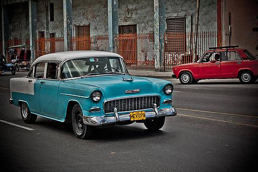 Cuba - Car V by Amador Esquiu Marques