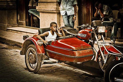 Cuba - HDR Sidecar - Bad Boy by Amador Esquiu Marques