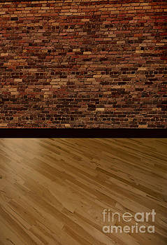 Darker Brick and Wood Backdrop by ChelsyLotze International Studio